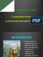 EL CANTAR DE LA VIÑA.  VERSOS 1-7