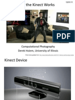 Lecture 25 - How the Kinect Works - CP Fall 2011
