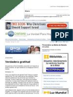 401235Gmail - La Verdad Para Hoy_Verdadera Gratitud_Romanos 1y8