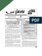 28-2-2014 Decreto Cancelacion de ONGD y Supresion y Modificacion Secretarias de Estado
