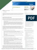 Magic Quadrant for Master Data Management of Customer Data Solutions - 2013