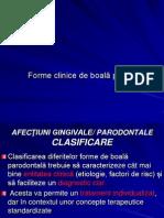 Forme Clinice de Boala Parodontala