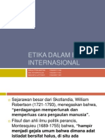 Etika Dalam Bisnis Internasional