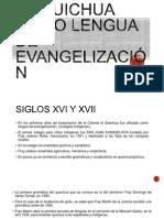 El quichua como lengua de evangelización