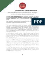 """Comunicado do Movimento """"Sintrenses com Marco Almeida"""" sobre a proposta de aprovação do relatório de contas da Câmara de Sintra"""