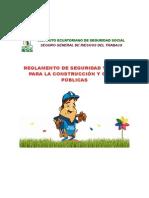 Seguridad y Salud Para La Construccion y Obras Publicas