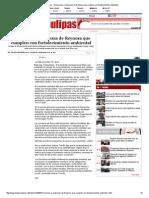 27-03-2014 'Reconocen a empresas de Reynosa que cumplen con fortalecimiento ambiental'