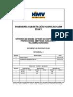 2612-00-34-AC-CD-001_V1-Criterios de diseño- Control, protección y telecom