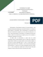 ANÁLISIS -  ESTRUCTURALISMO Y FUNCIONALISMO