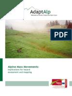 Handbook Hazard Mapping for Mass Movements