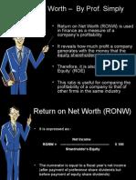 Return Net Worth