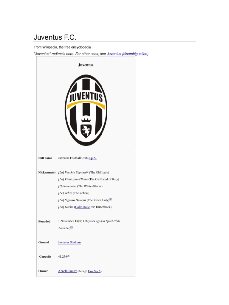 Juventus  6f1ad1efc
