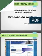 Pasos Para Registrar Web
