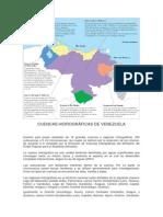 CUENCAS HIDROGRÁFICAS DE VENEZUELA