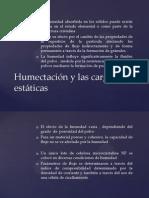 Humectacion Cargas Estaticas y Cohesion de Los Polvos.