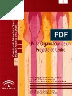 Laorganizaciondeunproyectodecentro