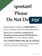 ACL 002 (Immunization)
