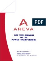 AREVA Site Tests Manual