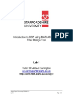 DSP Lab 1 MatlabTutorial