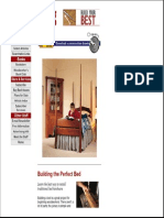 Beds - Four Poster Bed Plans