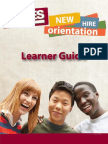 SYKES NHO Learner Guide Sample
