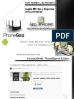 10. PhoneGapp y AppInventor