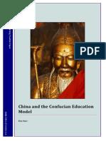 0Confucian Education Model Position Paper