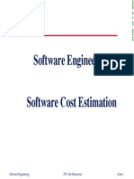 14SW Cost Estimation