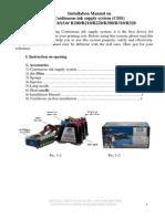 Installation Manual Epson Ciss r200 r210 r220 r300 r310 r320 Rx530