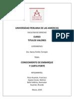 Trabajo Conocimiento Embarque Carta Porte 2014
