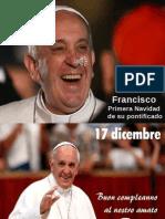 Francisco, Primera Navidad de Su Pontificado