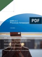 Vervoersplan NMBS 2014 provincie Antwerpen