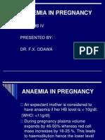 Dr. Odawa - Anaemia in Pregnancy Odw