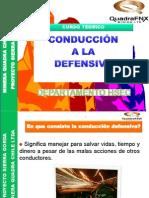 Conducción a la defensiva Sierra Gorda