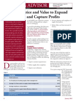 linking price and value to expand share and capture profits