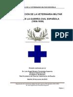 Organización veterinaria militar durante guerra civil 1936-39