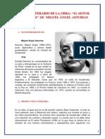 ANALISIS LITERARIO DE LA OBRA EL SEÑOR PRESIDENTE  DE  MIGUEL ÁNGEL ASTURIAS