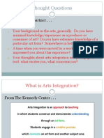 introduction to arts integration definitions and key concepts