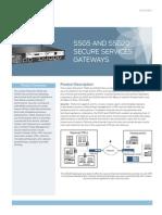 Juniper SSG5 Datasheet