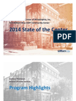 State of the Center - 2013 in Review