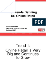 10 Trends Defining US Online Retail Oct 2007