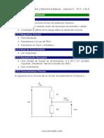 Práctica 1 Divisor de Potencial