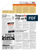 thesun 2009-10-23 page02 changes in five areas of isa says hisham