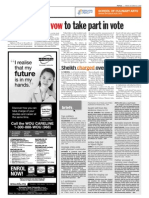 thesun 2009-10-23 page08 tribal leaders vow to take part in vote