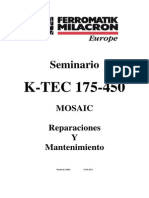 MOSAIC Maintenance K TEC Spanish