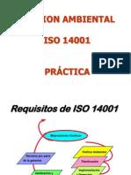 PROCEDIMIENTO ISO 14001 PRÁCTICA