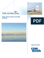 March 2014 Claiborne Pell Bridge Traffic and Safety Study Executive Summary - CDM Smith
