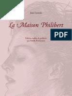 Jean Lorrain - La Maison Philibert