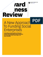 new approach to funding social enterprises