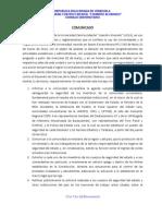 CU Comunicado 31-03-2014